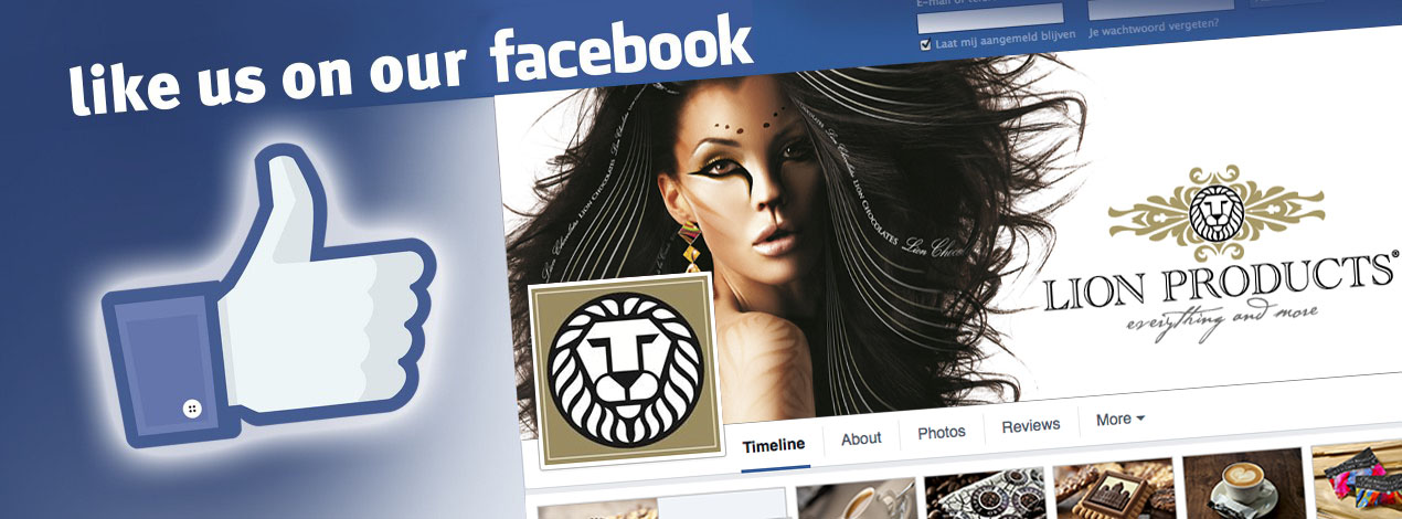 Like Lion Products on Facebook