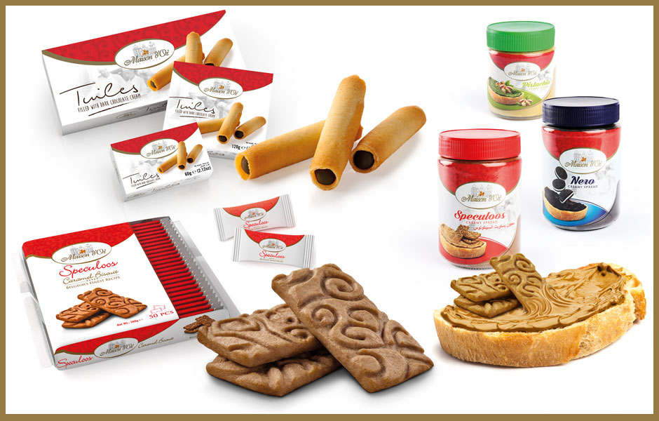 Export speculoos tuiles