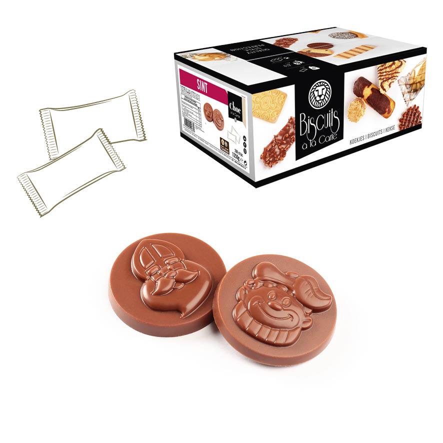 verkoop per stuk verpakte koekjes biscuits a la carte voor horeca en koffiebrander voor bij koffie of thee kan ook private label met gepersonaliseerde verpakking dozen of boxen of bulk